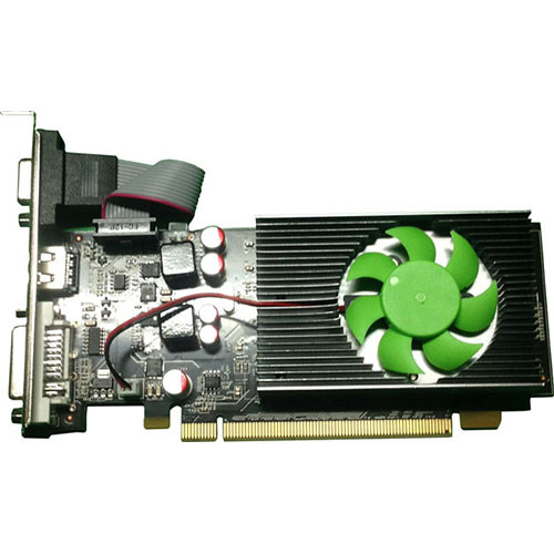 Seclife Nvidia 1GB Geforce GT210 DDR3 128 Bit HDMI DVI VGA LP Heatsink Two Slot