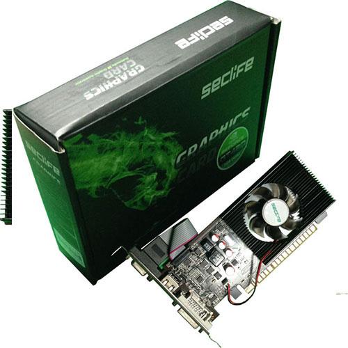 Seclife Nvidia 2GB Geforce GT420 DDR3 128 Bit HDMI DVI VGA LP Single Fan