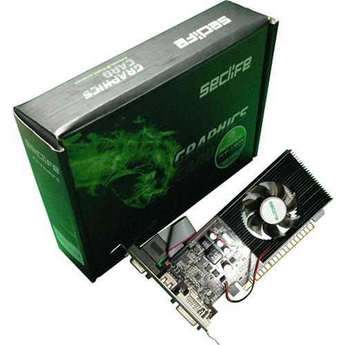 Seclife Nvidia 2GB GeForce GT730 DDR3 128 Bit HDMI DVI VGA LP Single Fan
