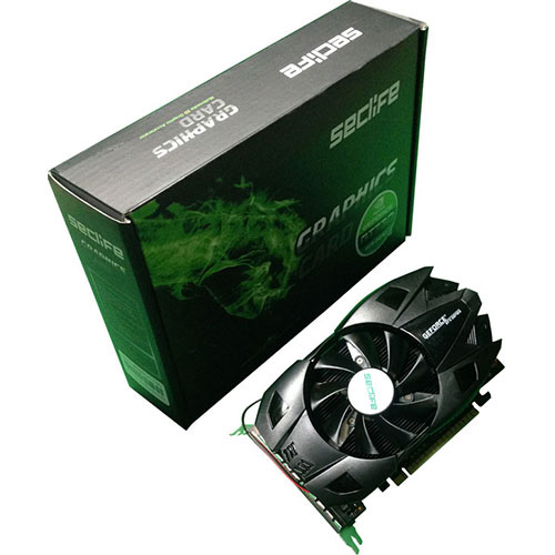 Seclife Nvidia 4GB GeForce GT730 DDR3 128 Bit HDMI DVI VGA ATX