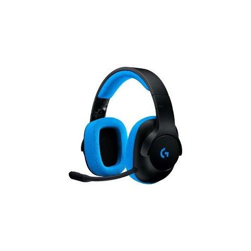 Logitech 981-000703 G233 Kafa Bantlı Mikrofonlu Gaming Kulaklık siyah / mavi