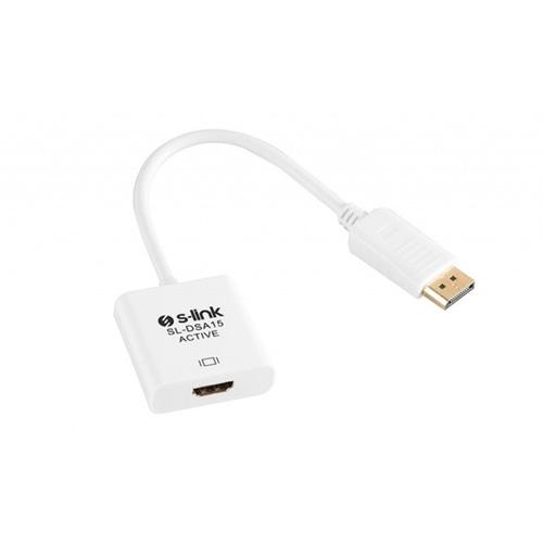 S-LINK SL-DSA15 Display TO HDMI Aktif Dönüştürücü
