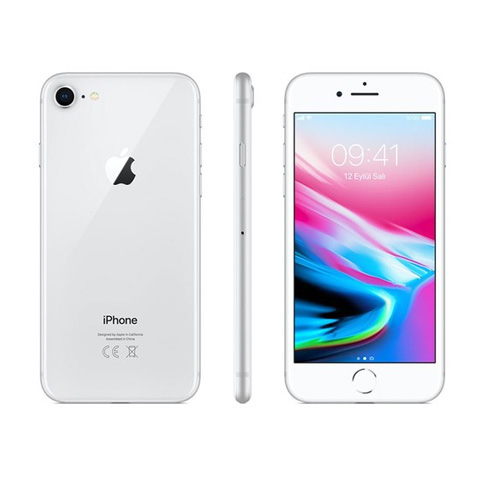 Apple iPhone 8 MQ6H2TU/A Silver 4.5G 4.7 64 GB Distribütör
