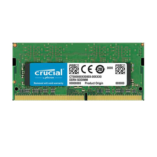 CRUCIAL 4GB 2400Mhz DDR4 CL17 Notebook Ram CT4G4SFS824A
