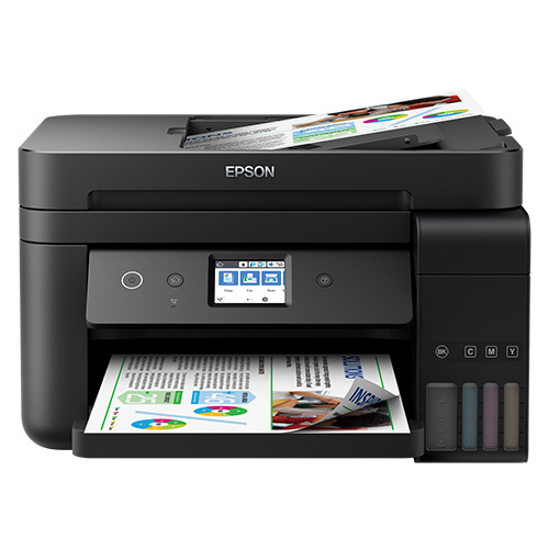 EPSON C11CG19402 TANKLI L6190 Renkli Inkjet Yazıcı A4 Fotokopi Tarayıcı Fax Dublex USB 2.0, Network, Wireless
