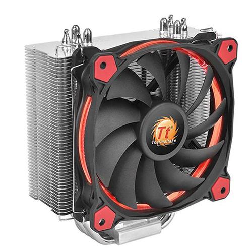 THERMALTAKE RIING SILENT CL-P022-AL12RE-A 12cm Kırmızı Ledli İşlemci Fanı