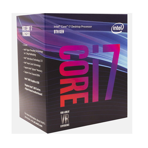 INTEL Core i7 8700 6 3.20 GHz 12MB LGA1151 Coffe Lake