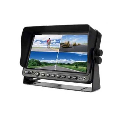 TECHSMART DVR-7006-LCD 7 Araç Monitörü  4 Kanal Mobil DVR