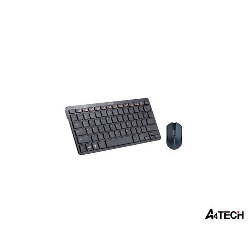 A4 TECH 6200N Q Kablosuz 2.4 GHz Mini Multimedya Klavye/Mouse Set