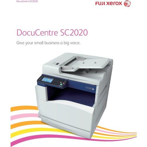 XEROX DocuCentre SC2020 Renkli Laser Yazıcı A3 Fotokopi Tarayıcı Fax 22 ppm S/B USB 2.0, Network