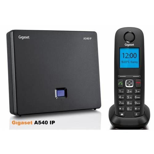 GIGASET A540 IP Lcd Ekran HD SES KALİTELİ Telefon