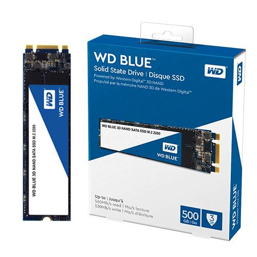 WD Blue 500GB SSD M.2 SATA 560/530 WDS500G2B0B