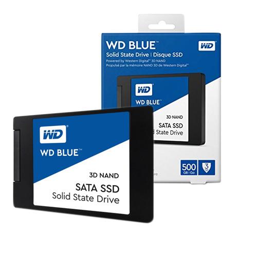 WD Blue 2.5 500GB SSD SATA3 560/530 WDS500G2B0A