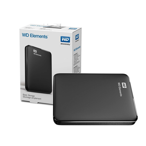 WD 2.5 ELEMENTS 4TB USB 3.0 EXTERNAL HDD SİYAH WDBU6Y0040BBK-WESN