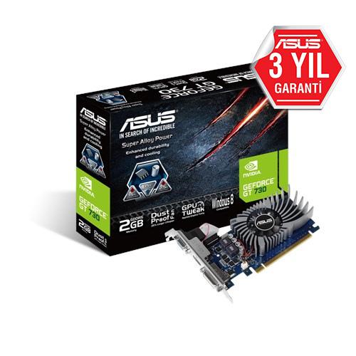 ASUS Nvidia 2GB GT730 GDDR5 64 Bit GT730-2GD5-BRK HDMI DVI-D