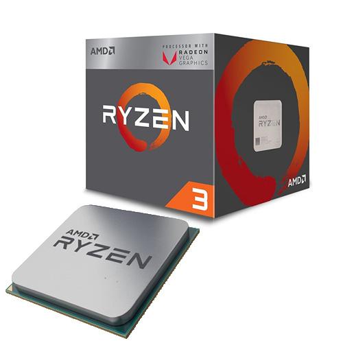 AMD RYZEN3 2200G 3.7 / 3.5 GHz AM4 65W Radeon Vega YD2200C5FBBOX