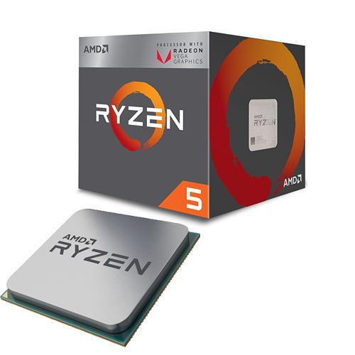 AMD RYZEN 5 2400G 3.9/3.6 GHz AM4 65W Radeon Vega YD2400C5FBBOX