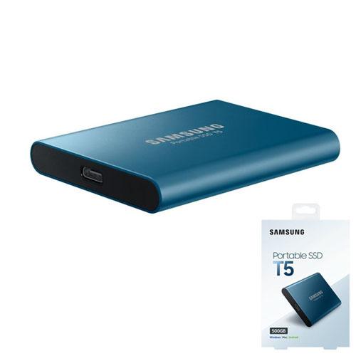 SAMSUNG 2.5 T5 500GB USB 3.1 EXTERNAL SSD MU-PA500B/WW