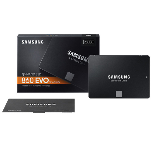 SAMSUNG 860 Evo 2.5 250GB SSD SATA3 550/520 MZ-76E250BW