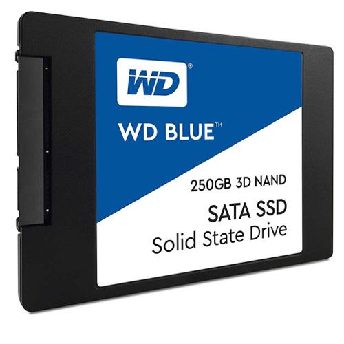 WD Blue 3D 2.5 250GB SSD SATA3 550/525 WDS250G2B0A