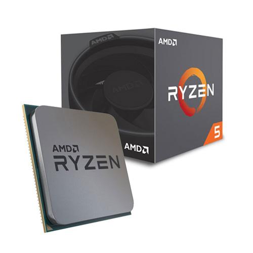 AMD RYZEN 5 2600 3,9/4,1 GHz AM4+ 65W Wraith