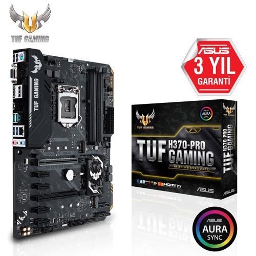 ASUS INTEL TUF H370-PRO GAMING H370 DDR4 2666 VGA GLAN 1151p-8