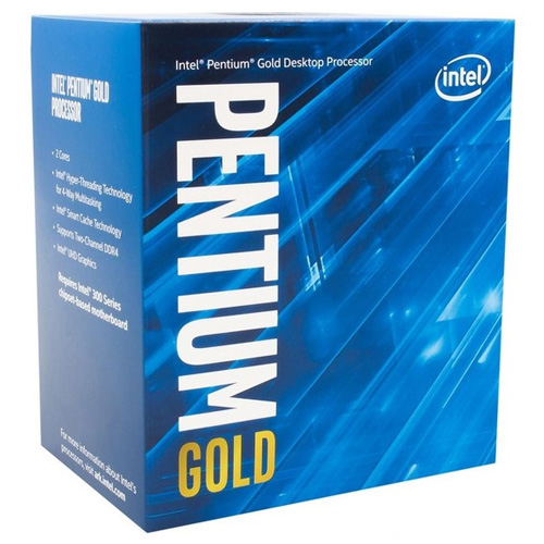 INTEL Intel G5400 Pentium Gold 3.70 GHz VGA 1151P COFFEELAKE FAN VAR