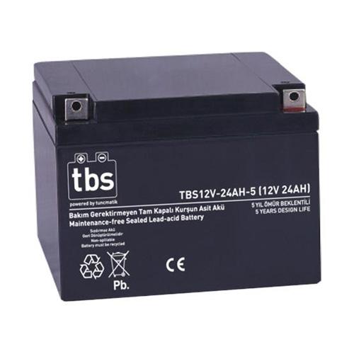 TBS TSK1965 12V 24 Ah Kuru Tip Bakımsız Akü