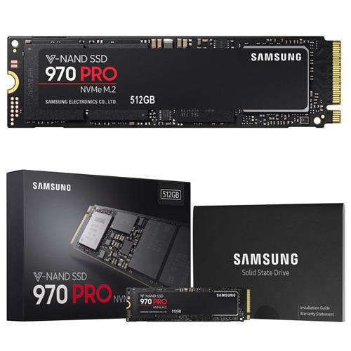 SAMSUNG 970 Pro 512GB SSD M.2 SATA 3500/2700 MZ-V7P512BW