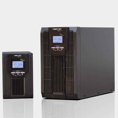 NECRON DT-SL Senisi 3 KVA 1F/1F On Line 5-15 Dk. Lcd Ekran KGK 6*12V 9AH