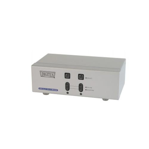 Digitus DCVRM812E 2+1 Port Hdmı Çoklayıcı Splitter