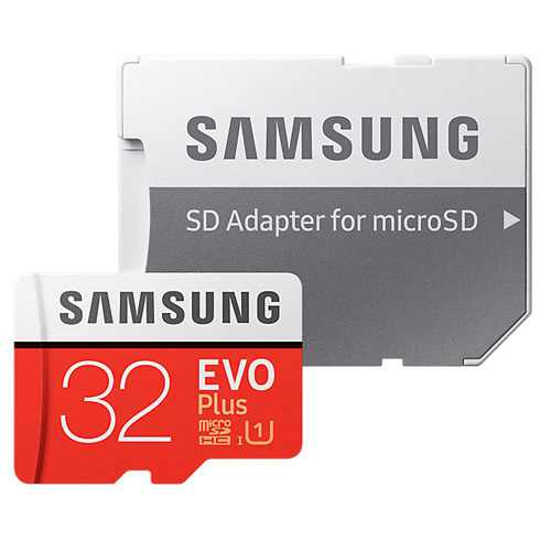 Samsung 32GB MSD EVO PLUS CLASS 10 Micro Sd Hafıza Kartı MB-MC32GA/TR