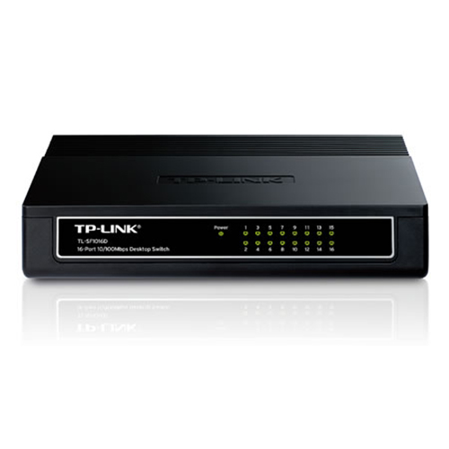 TP-LINK 16 Port TL-SF1016D 10/100 Switch