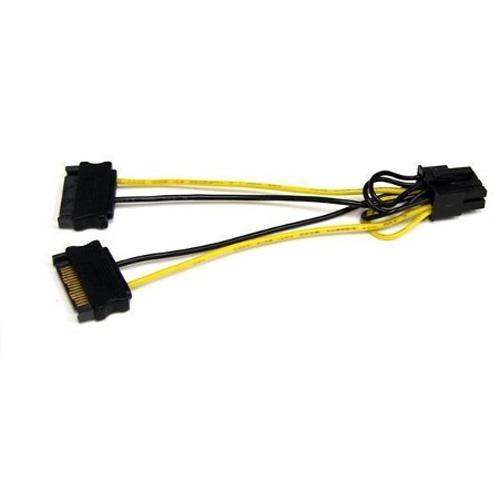 DARK DK-CB-P203 2xSata - 6+2pin PCI-E Dönüştürücü