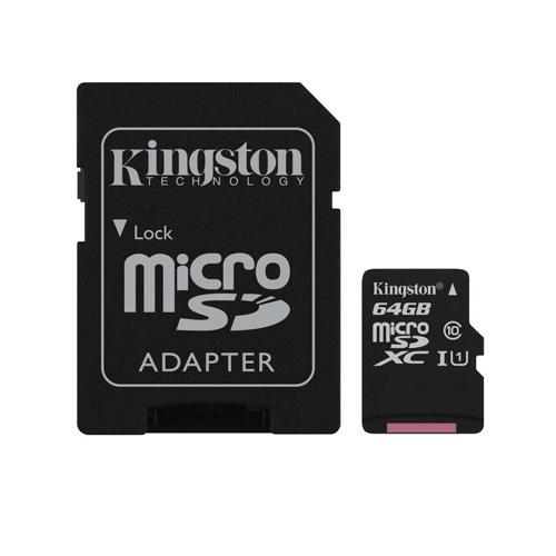 KINGSTON 64GB Micro Sd Class10 SDCS/64GB