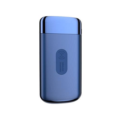 JOYROOM Wireless Şarj 10000 Mah + 2 Usb Çıkış Omelo Kablosuz Powerbank Mavi
