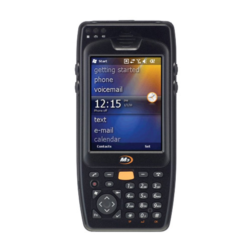 M3 Mobile M3 OX10 (ORANGE) 2D Wifi / Bluetooth Windows CE 6.0 El Terminali (Batarya+Şarj Kiti)