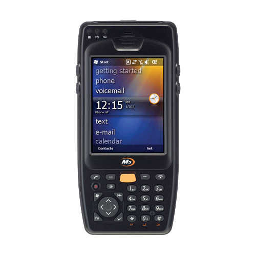 MobileComp M3 OX10 (ORANGE) 2D Wifi / Bluetooth Windows Mobile 6.5 (Batarya+Şarj Kiti) El Terminali