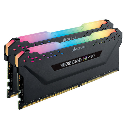 CORSAIR VENGEANCE RGB PRO GAMING 16GB (2x8GB) 3200Mhz DDR4 Soğutuculu CL16 Pc Ram CMW16GX4M2C3200C16