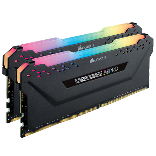 CORSAIR VENGEANCE RGB PRO 16GB (2x8GB) DDR4 3600Mhz Soğutuculu CL18 Pc Ram CMW16GX4M2C3600C18