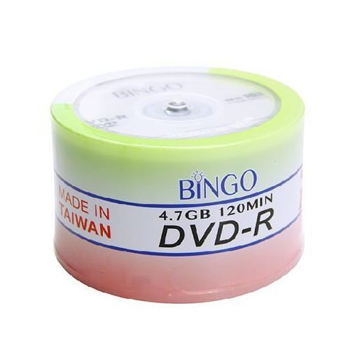 BİNGO 16X 4.7GB 50 li Cakebox DVD-R Boş Dvd