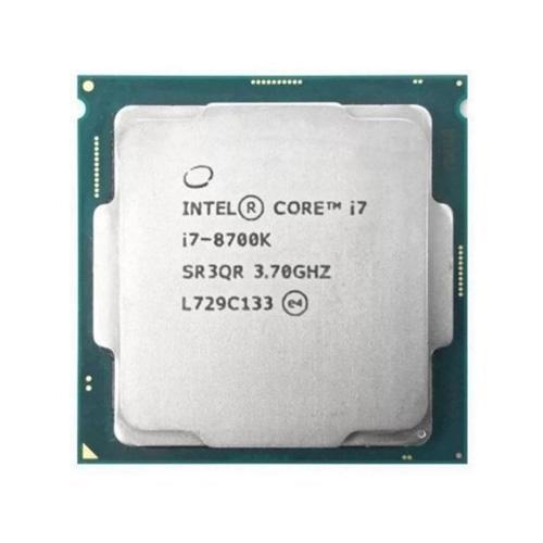 INTEL Core i7 8700K Coffee lake 3,70 GHz 12MB LGA1151 Tray