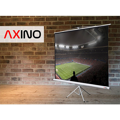 Axino TPS-180 180x180 Tripod Ayaklı Projeksiyon Perdesi