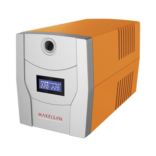 MAKELSAN LION 2200 VA Line Interactive 5-15 Dk. Lcd Ekran 2x9AH -