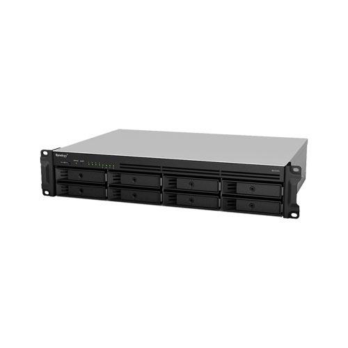 SYNOLOGY RS1219PLUS 8 Bay SATA 2x USB 3.0 - 1x e-SATA 4xGLAN 0/1/5/6/10/JBOD RackMount NAS Server