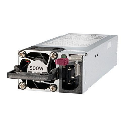 HPE 500W Power Supply FS Plat 865408-B21 Ht Plg LH