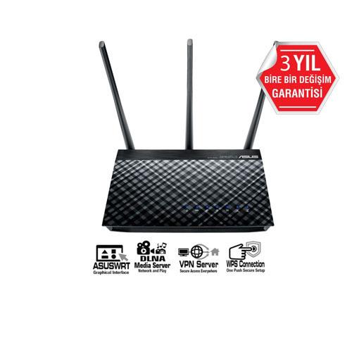 ASUS DSL-AC750 750Mbps ADSL/VDSL Kablosuz Router/Modem