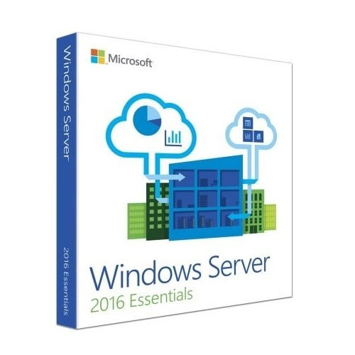 Microsoft Windows SERVER ESSENTIALS 2016 Trk 64Bit G3S-01059