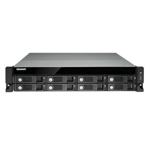 QNAP TVS-871U-RP-İ5 2.5 /3.5 8x Sata I-II-III + SSD 4x USB3.0 , 4x USB2.0 4xGLAN RackMount NAS Server