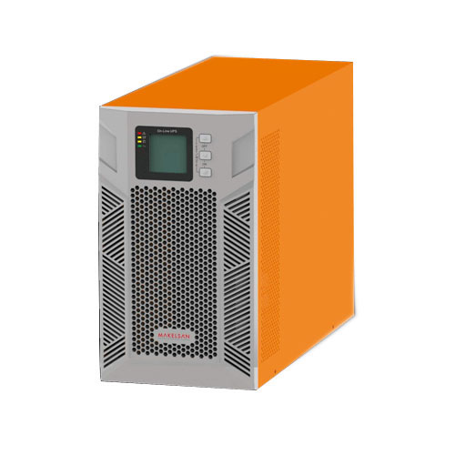 MAKELSAN MU02000N11DTV02 POWERPACK PLUS 2 KVA On Line (5 - 15 Dk.) LCD 4x12V 9AH (+V.2)